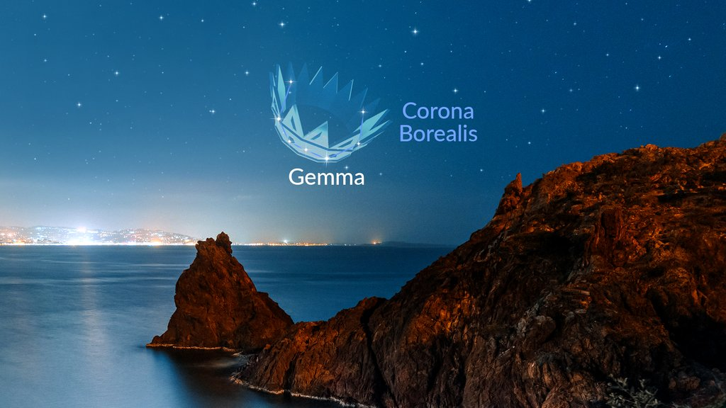 Look for a constellation Corona Borealis👑 — it's easy to find if the sky is dark enough.✨ This beautiful almost-perfect semicircle of stars is best seen in the evening sky from now until October.🌟  #coronaborealis #alphecca #gemma #constellations #stars #stargazing #starwalk https://t.co/kXdC80ebcQ