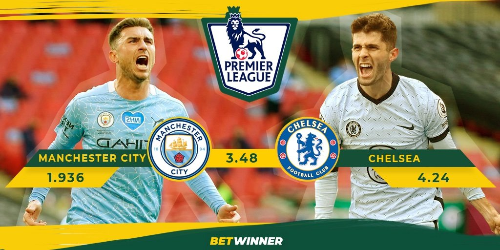 #PL #MCICHE  #ManCity VS #Chelsea  Place your bets with #Betwinner 👉https://t.co/5YZcISiMST  Get up to 130€ with Promo Code 👉2020  #football #sports #Barcelona #FCBATM #Soccer #BTC #Messi #ManCity #SerieA #freebet #MatchDay #futebol #PremierLeague #LaLiga #Giveaway #UCL #1xbet https://t.co/VNi3B4dCn3