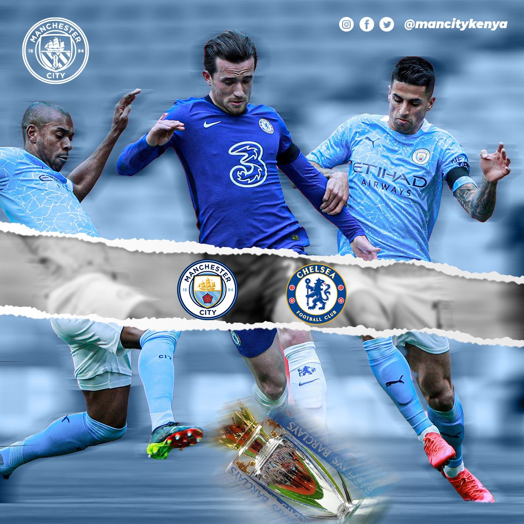 Only one win between us and the title. @ManCity 🆚 @ChelseaFC #mcfc #mancity #mancityosc https://t.co/NDDoUgJZCf