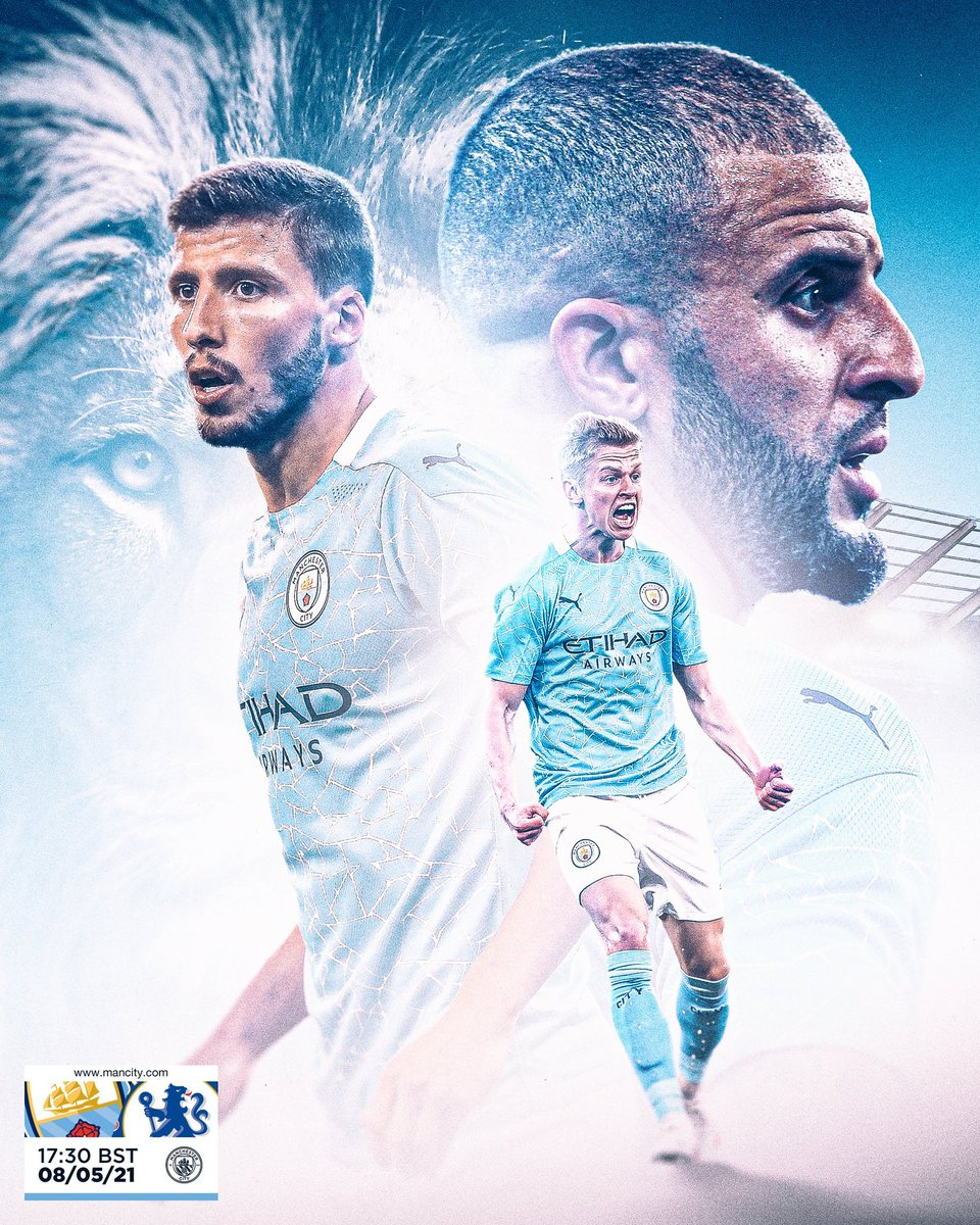 Matchday🔥 C'mon City 💙 #ManCity #MCICHE https://t.co/oD6Gsv6NYD