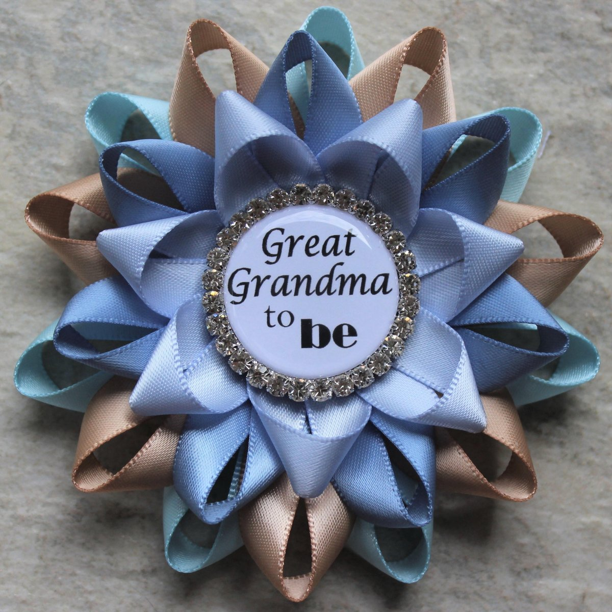 Great Grandma Pin, Grandma Gift, Baby Shower Gift, New Grandmother Gift, Pregnancy Reveal, Light Blue, Champagne, French Blue, Ice Blue https://t.co/AA7k75ToEd #style #shopping #etsy #smallbiz #etsyshop #gifts #shopsmall #ecommerce https://t.co/zhxWnRFnok