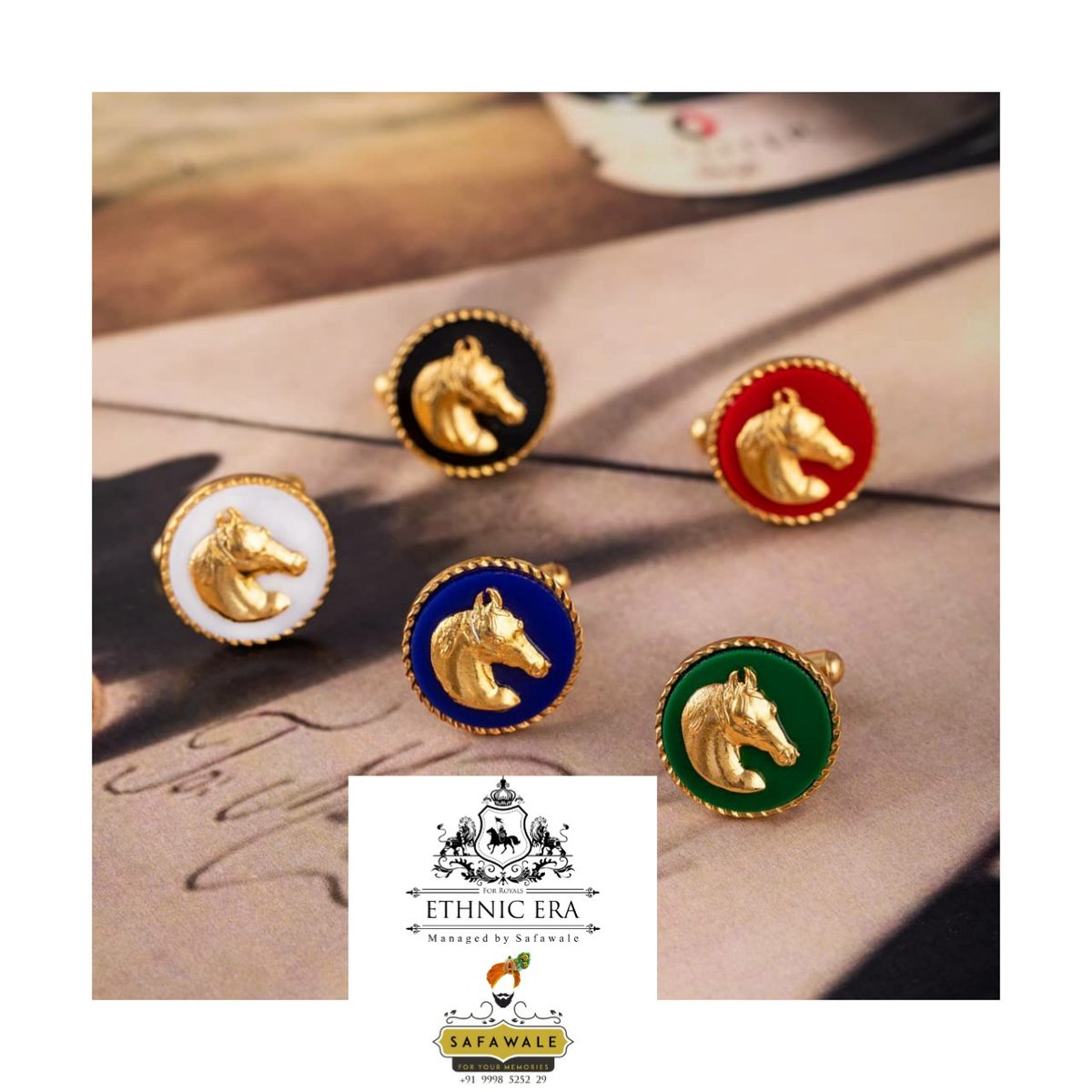 #cuffs #cufflinks #horse #equestrian #colors #red #gold#goldplated#accessories#mensfashion#fashiondesigner#shirt#suit#clothing#jewelry#menstyle#menswear#dapper##style#cufflinkstyle#accessories##bestman#giftsforhim#rajput#rajgharana #ethniceraforroyals https://t.co/XAzIV4asiy