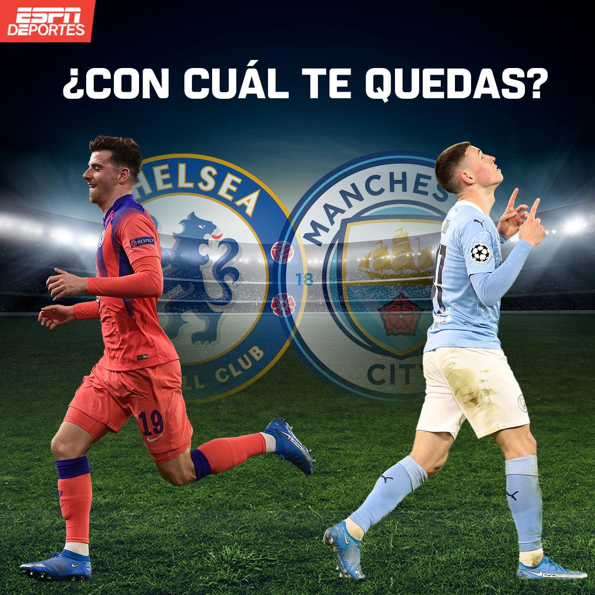 Ambos jóvenes 👶 van con buen paso en sus equipos... ¿Tú a quién eliges?  #Foden : ❤️  #Mount : 🔁  #Chelsea #ManCity https://t.co/tk7ukYnaMD