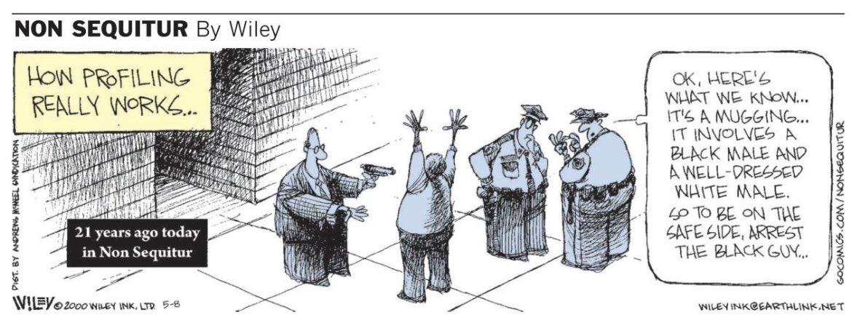 My dear friend Wiley Miller drew this **21 freaking years ago.** It was printed in today's LA Times. https://t.co/OCh0ped0ES