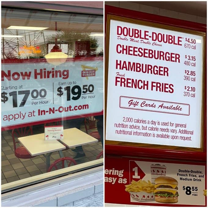 Aggressively share this with those who think paying burger flippers a living wage will somehow result in $20 Big Macs or whatever. https://t.co/sE9QDZAjBI