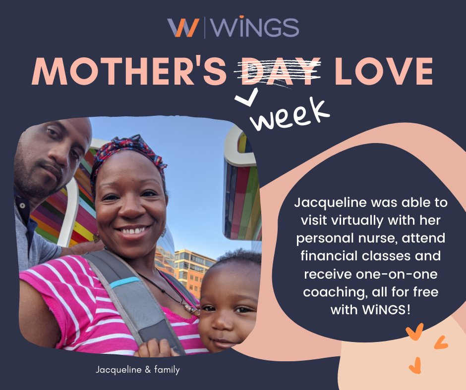 test Twitter Media - First-time motherhood is hard anytime but during a worldwide pandemic it is almost impossible. Jacqueline is one of our 116 new mothers who benefited from one-on-one nurse visits in 2020.  Go Jacqueline and Happy Mother's Day from WiNGS! Learn more: https://t.co/aU9zHanLvC https://t.co/Yn94LaJ8iL