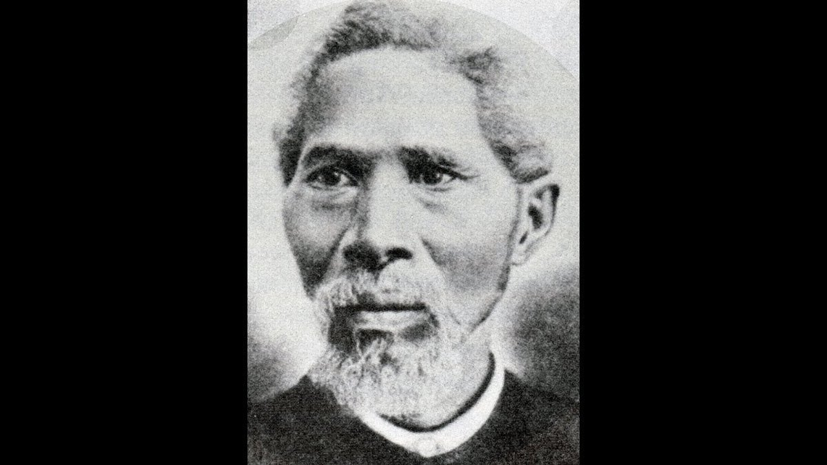 """John Henry """"Jack"""" Yates. Community leader, who with 3 other Black men in the 19th century, bought land that became Emancipation Park in Houston; a place to celebrate Juneteenth. The cover photo is from the Yates family collection. https://t.co/d8VQ0AWFJI https://t.co/MhVjWogrYd"""