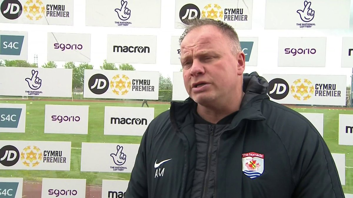 Image for the Tweet beginning: Andy Morrison a Huw Griffiths