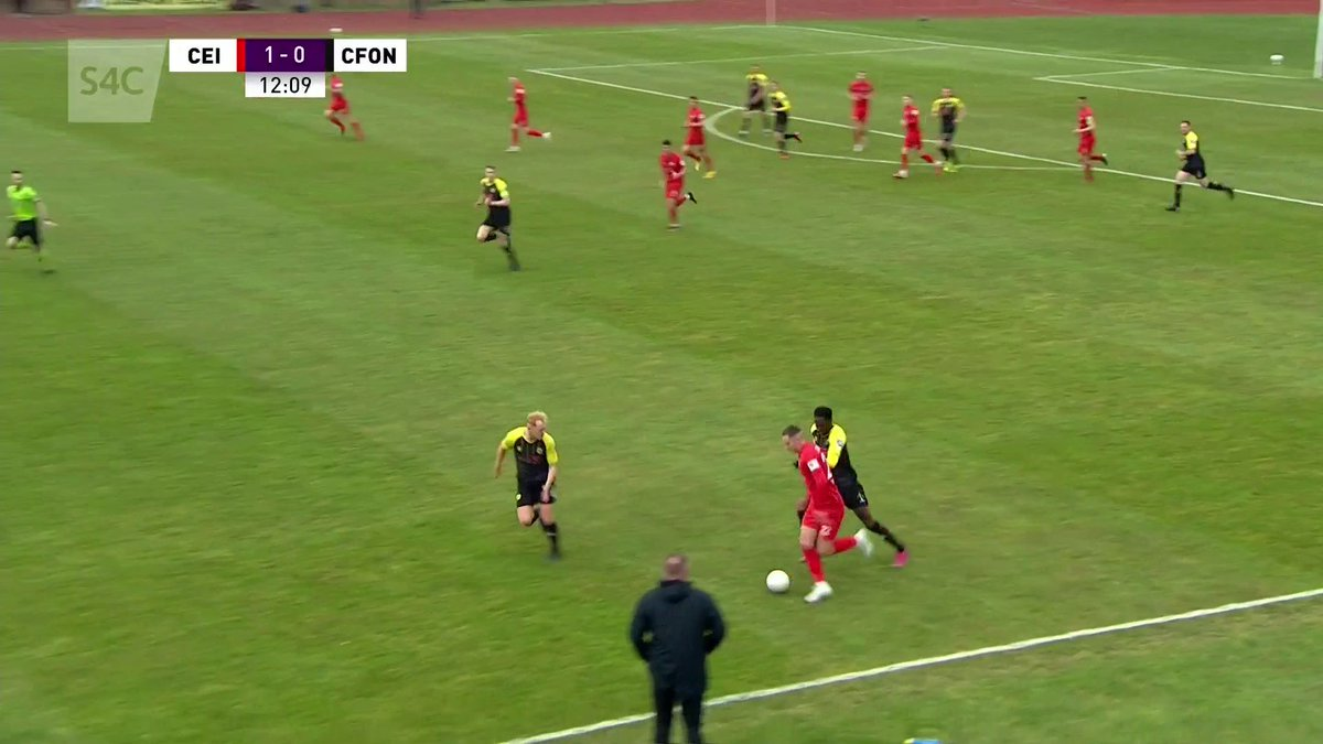 Image for the Tweet beginning: HT @the_nomads 1-0 Caernarfon  Gôl Jamie