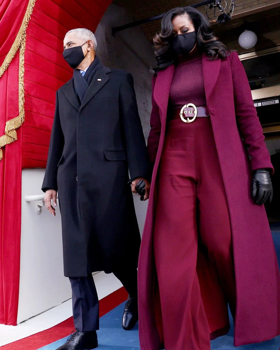 Remember when former First Lady Michelle Obama slayed at the Biden inauguration? https://t.co/Az3VGixP8M
