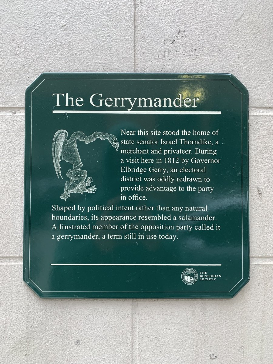 Randomly came across where the first gerrymander was drawn https://t.co/C09zFbjRbO