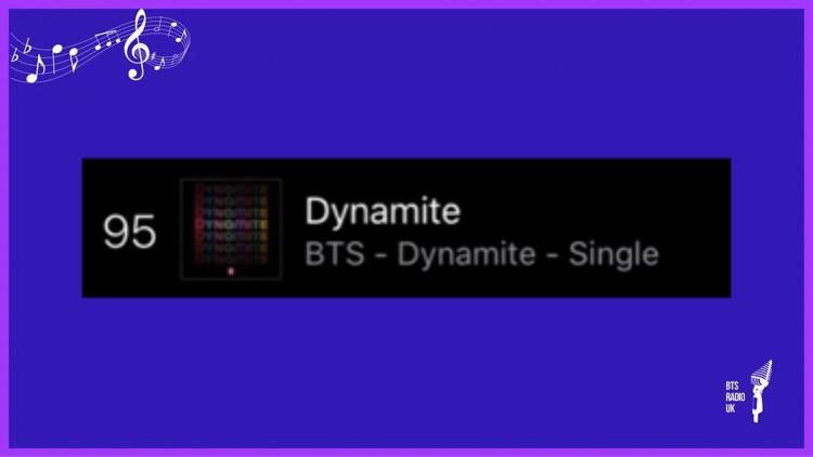 🇬🇧#BTSARMY🇬🇧  UK iTunes Pop Songs 8th May 2021   #No 95 (RE) Dynamite   Keep buying and streaming @BTS_twt  Remember 10 streams per platform, per day.   🎸  #BTS_BE #BTS #Dynamite #DontOutNow #ButterIsComing