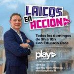 Image for the Tweet beginning: LAICOS EN ACCIÓN| Mañana domingo