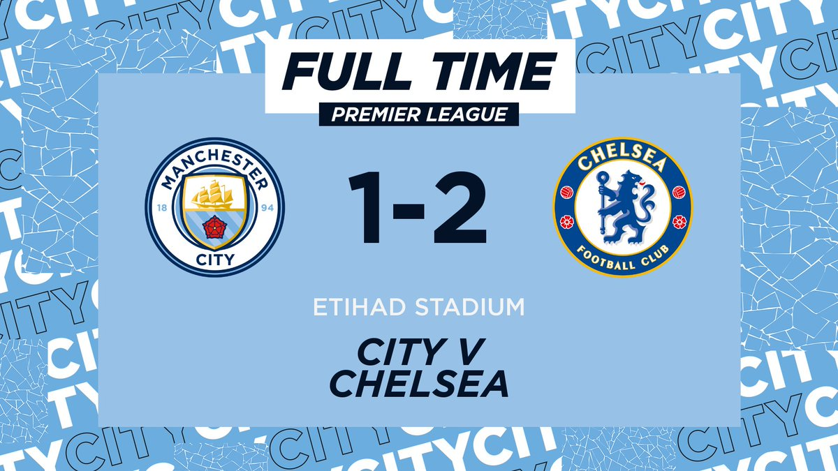 FULL TIME | Defeat on the day.  🔵 1-2 🦁 #ManCity | https://t.co/axa0klD5re https://t.co/DvGJxAMtLx