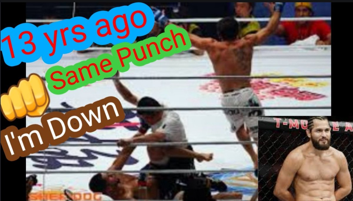 """See how #JorgeMasvidal got knock out in #UFC261 the same way 13 yrs. Ago follow me on my YouTube , Subscribe  🔔 and like 👍 and leave a comment ✍  Watch """"UFC 261: Conor McGregor has something to say to Kamaru Usman"""" on YouTube https://t.co/YtVx7RXhSf https://t.co/EwHkf5kTET"""