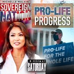Image for the Tweet beginning: Tune in #SovereignNation now: PRO-LIFE
