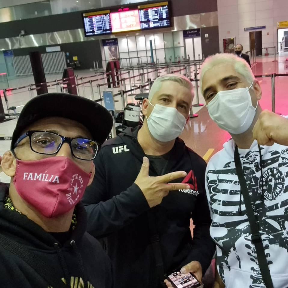 Partiu Houston!  Houston, we're comin'  #UFC262 https://t.co/Gaf4XdMdWw