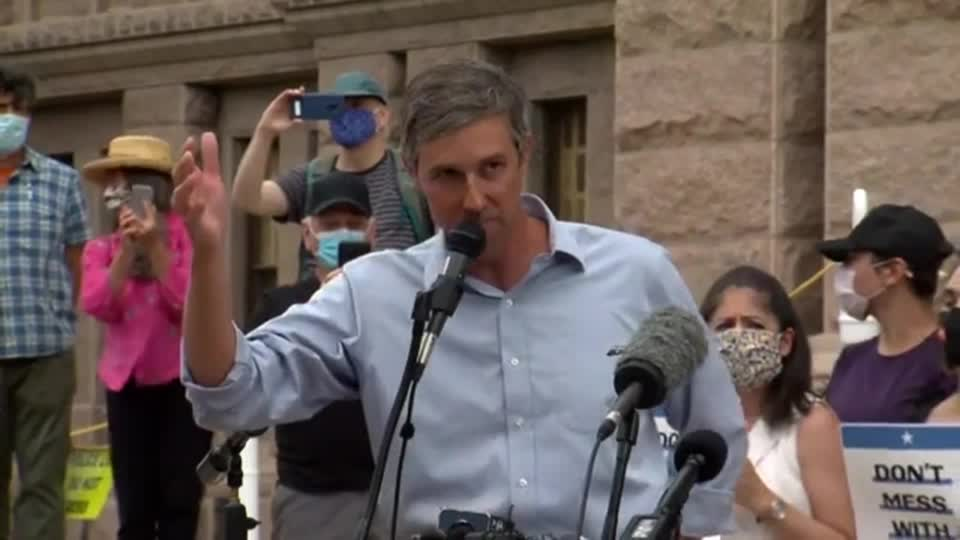 WATCH: Former Congressman Beto O'Rourke slammed the Texas House of Representatives for advancing a slew of new voting restrictions, defying opposition from many of the state's businesses and adding to a fierce national debate over voting rights https://t.co/efHA5bhisD
