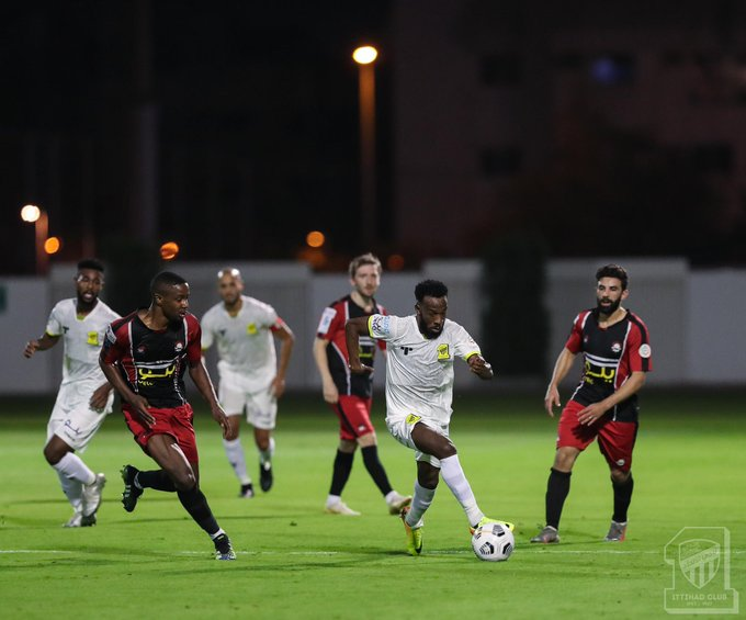 نادي الاتحاد يتعادل بنتيجة 1\1 أمام نادي