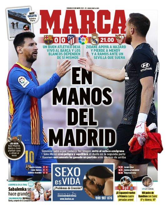 الماركا : في يد مدريد