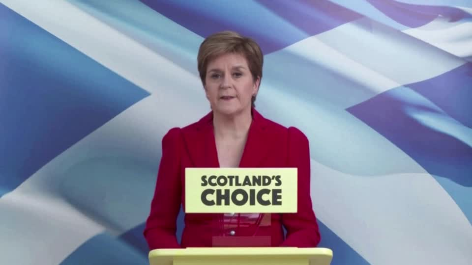 Scotland's first minister Nicola Sturgeon said she would push ahead with plans for a second independence referendum after pro-independence parties won a majority in Scotland's parliament. More here: https://t.co/nYvclpmtim https://t.co/xqqt8vrXQy
