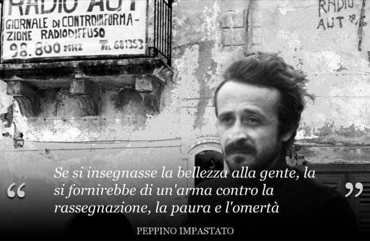 #PeppinoImpastato