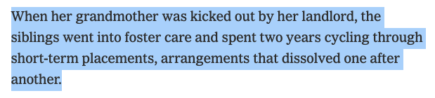 This detail of Ma'Khia Bryant's life is so heartbreaking.  What if the money that the state spent to put her and her siblings into the system had gone to her grandmother — towards keeping the family together?  https://t.co/PbSNyVPvsJ https://t.co/2VkGBqanEN