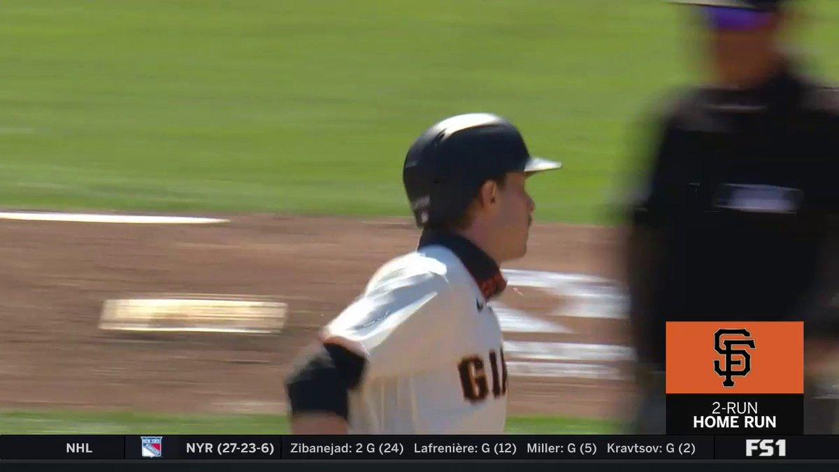 @MLBONFOX's photo on Austin Slater