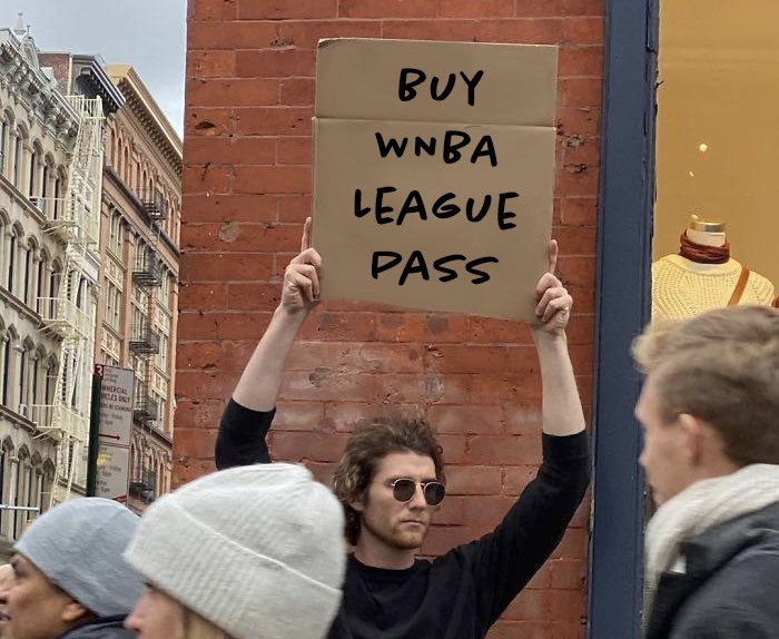 🗣 reminder: WNBA season starts in less than a week and league pass is only $16.99  https://t.co/1rVLDROxzk https://t.co/QaUCzKaHA2