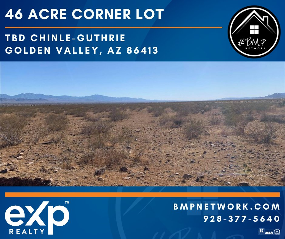 ⭐⭐ 46 ACRE CORNER LOT!! ⭐⭐ More Info: https://t.co/LLbQkHNwOS  BMP Network eXp Realty 928-263-6854  #RealEstate #Realtor #ForSale #LandForSale #LotsForSale #BuildYourDreamHome #eXpRealty #NewListing #HomesForSale #Property #Properties  #BMPNetwork  #BMPLindsey https://t.co/PnOIPMc0v9