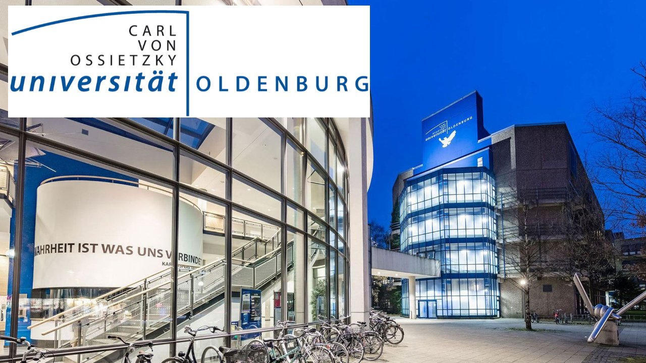 Oscar Romero International scholarship, University of Oldenburg, Germany