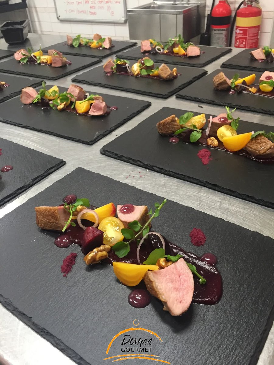 FANCY SALADS -Duck -Beets -Watercress  #salad #food #foodie #lunch #healthyfood #delicious #instafood #healthy #foodphotography #healthylifestyle #foodlover #cafe #eat  #plated #entree #chef #cook #finedining #catering