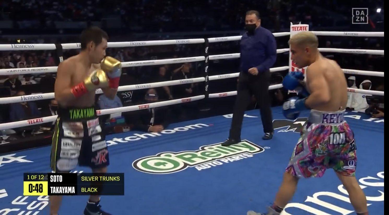 Elwin Soto derrotó por TKO en 9 asaltos a Katsunari Takayama.