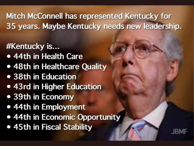 Frio, malo, hueco .. cold evil hollow .. WHAT the Heck is KY doing??? KY crippled by #MorticianMitch who gelded then embalmed the once-co-equal Senate. https://t.co/qO3pMLcyEl