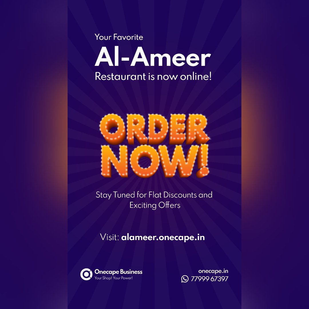 Welcome onboard #alameer If you are in #trichy Al-Ameer is in business since 1987 and are very well known for special Indo-Malaysian dishes #onecape #food #onecapeshops #business #restaurant #instafood #TamilNadu #foodstagram #foodpic #smallbusiness #businessowner #DogecoinRise