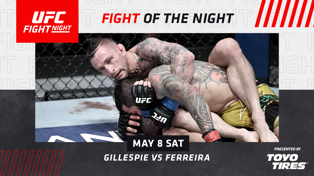 Set the standard for scrambles 🤼♂️  [ FOTN is B2YB @ToyoTires | #UFCVegas26 ] https://t.co/WgXhGn25ao