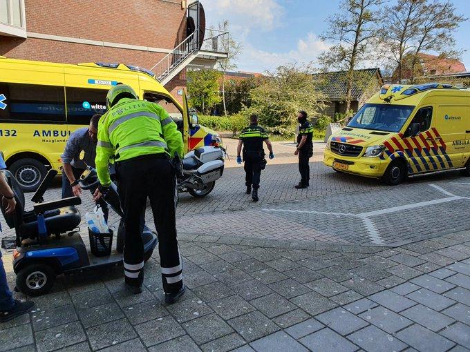 S-Gravenzande Traumahelikopter inzet voor incident aan de van Geeststraat Man met scootmobiel onderuit. https://t.co/MijNUiNrvw