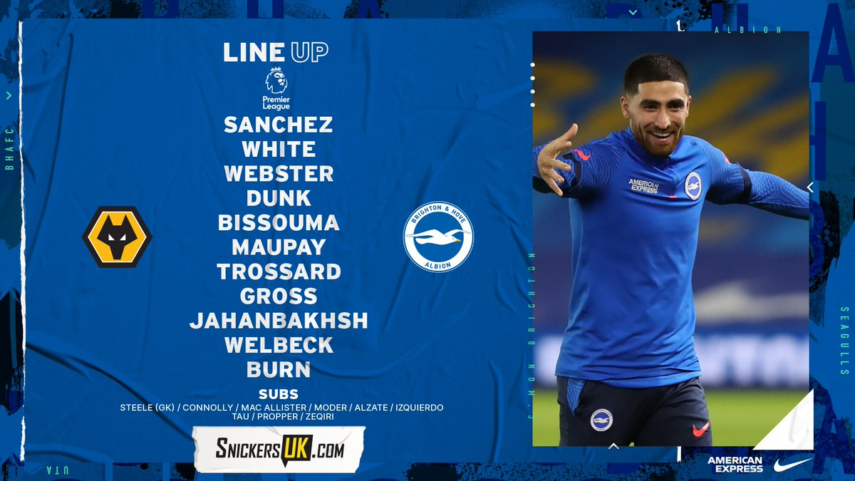 Replying to @OfficialBHAFC: 💪 𝗧𝗛𝗘 𝗔𝗟𝗕𝗜𝗢𝗡 𝗧𝗘𝗔𝗠 💪  ⚽ #WOLBHA  📲   #BHAFC 🔵⚪