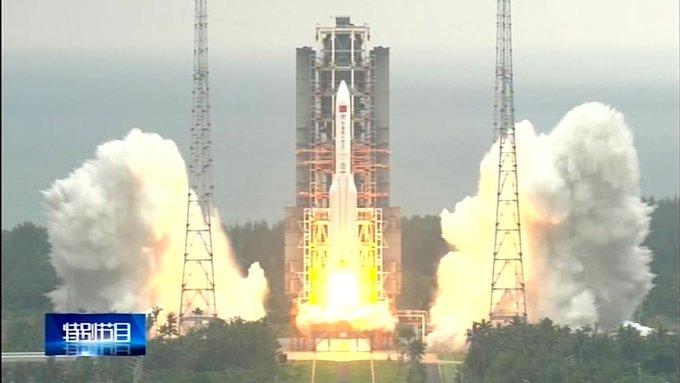 'Irresponsible': Nasa chides China as rocket debris lands in Indian Ocean Photo