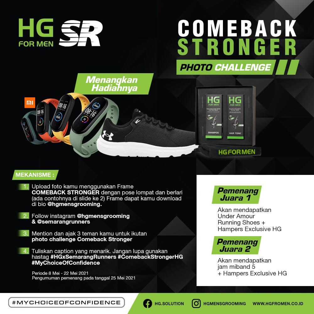 Photo Challenge - Comeback Stronger • 2021