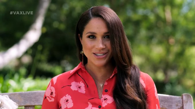 Meghan Markle makes first TV appearance since Oprah interview Photo