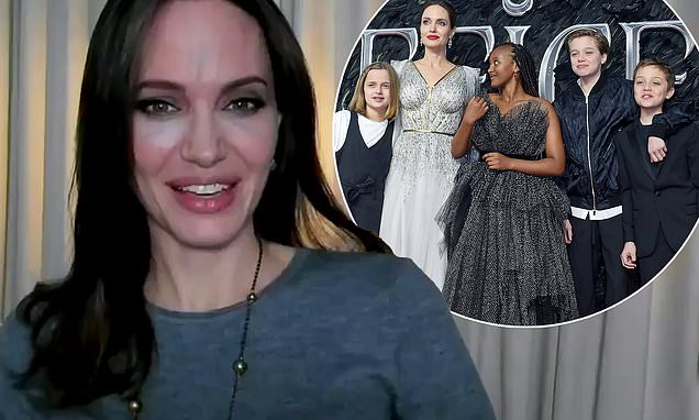Angelina Jolie, 45, shows off her ageless visage as she promotes new film Those Who Wish Me Dead Photo