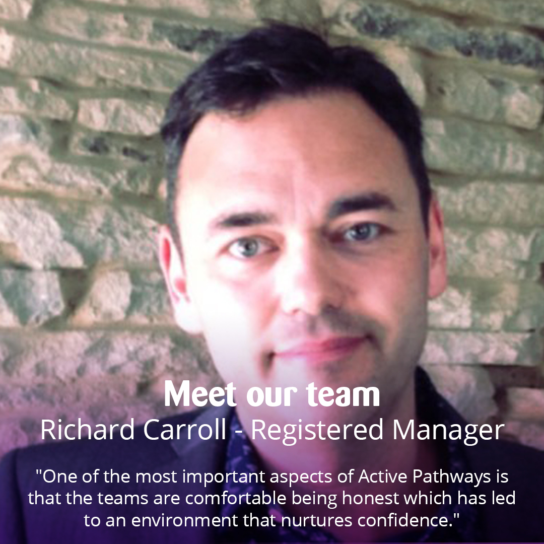 Supportive. Genuine. Warm. The three words that Leeds Registered Manager, Ric, used to describe Active Pathways. Read more about Ric, his role & why he thinks Active Pathways is a rewarding place to work here https://t.co/FUHKxGIOju #occupationaltherapy #mentalhealth #recovery