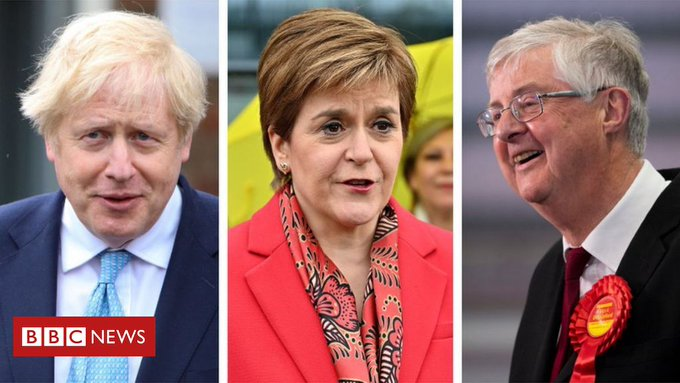 Election results 2021: PM calls Covid recovery summit after SNP victory Photo