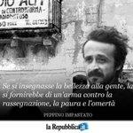 Image for the Tweet beginning: 9 maggio 1978 - Peppino