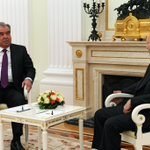 Image for the Tweet beginning: Meeting with President of Tajikistan