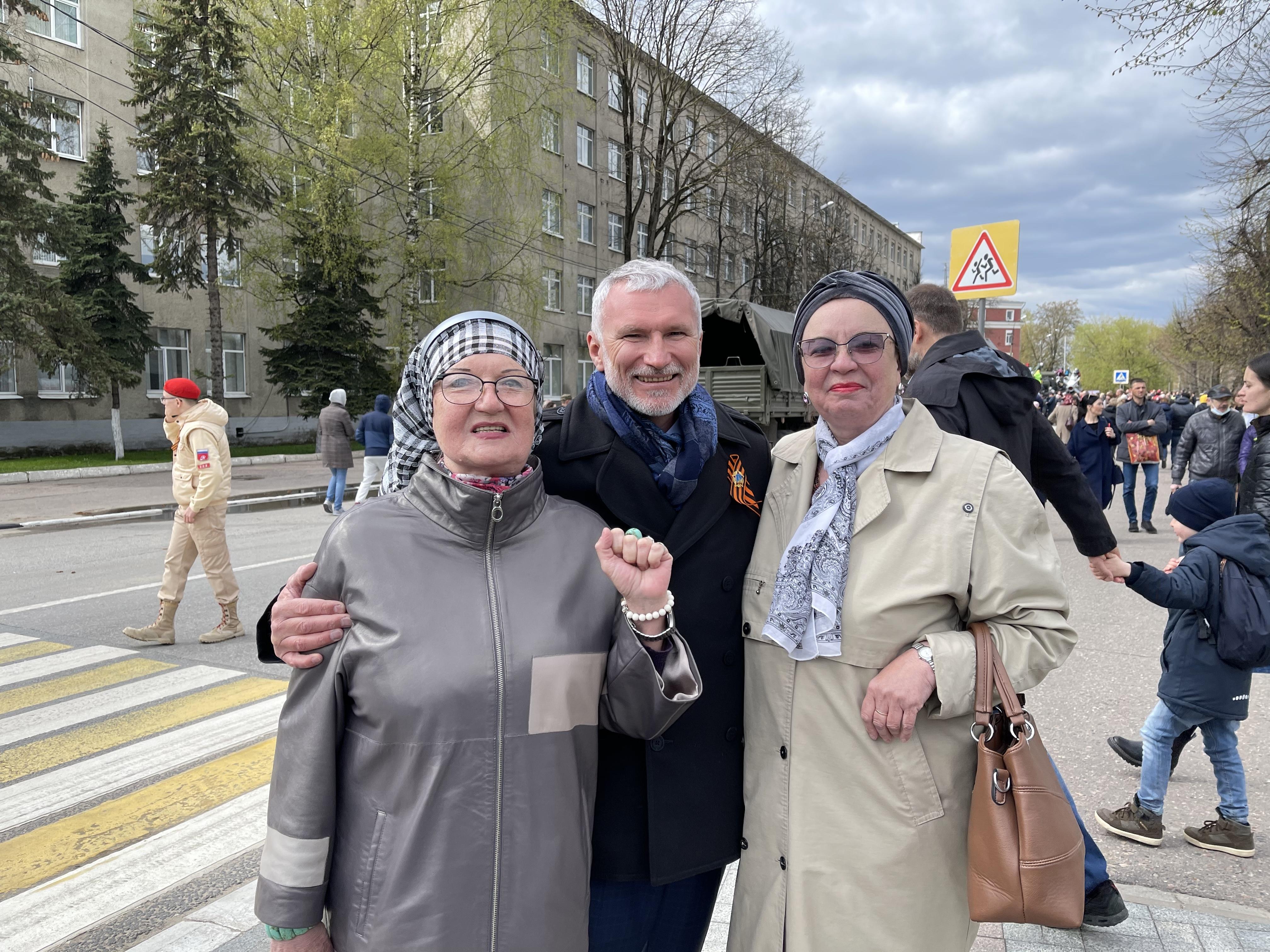 Депутат Госдумы Журавлев побывал в Твери на 9 мая