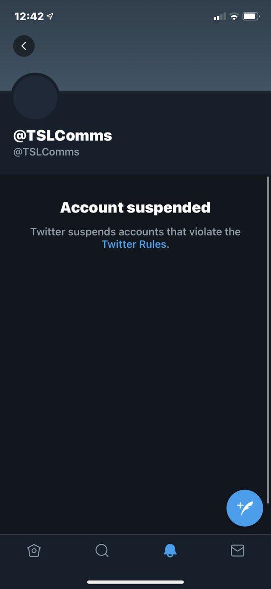 Super League Twitter ban? Lmao https://t.co/qmISqRrc01