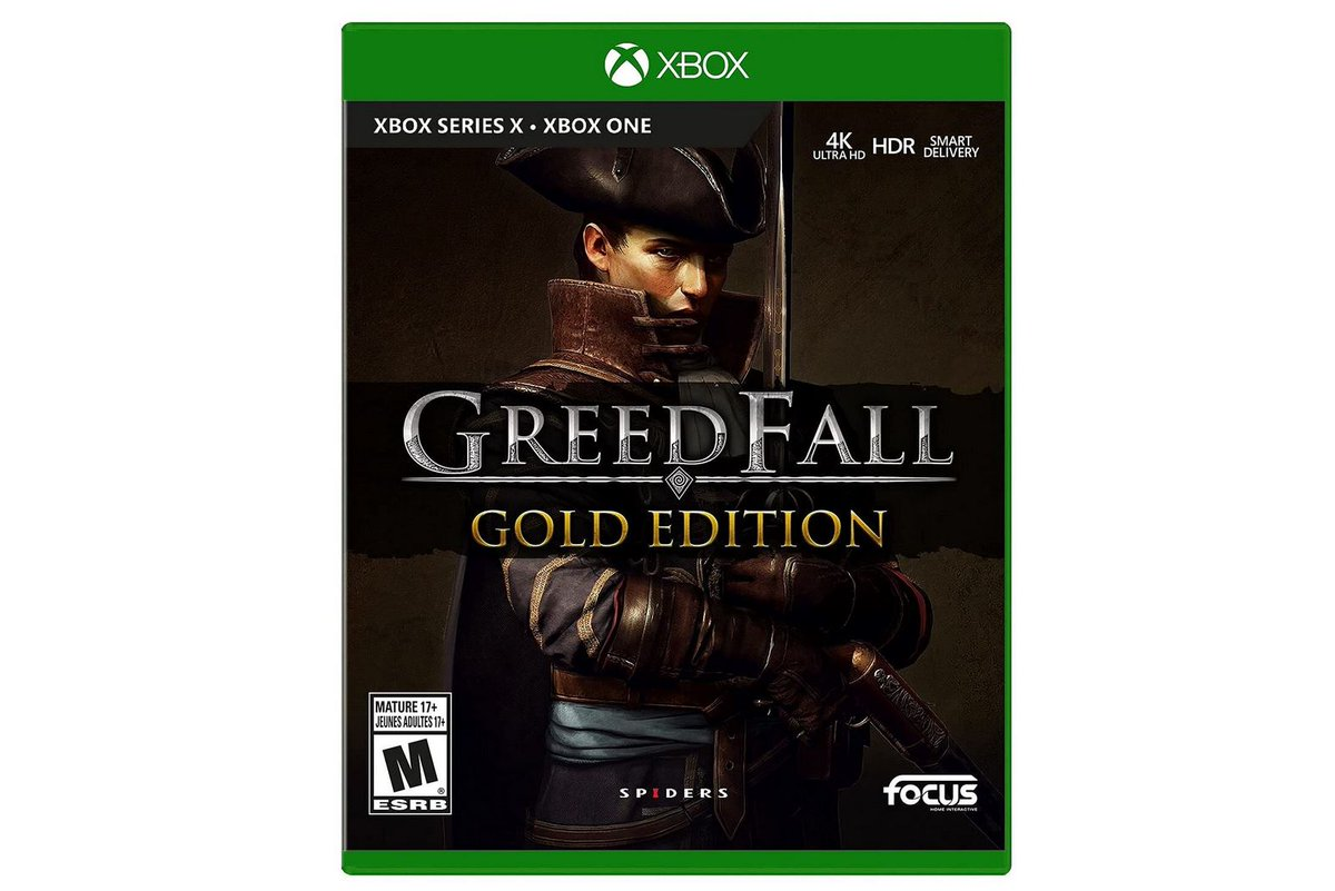 Pre-Order: Greedfall: Gold Edition (X1/X) $29.99 via Amazon (Prime Eligible). MSRP $39.99. 2