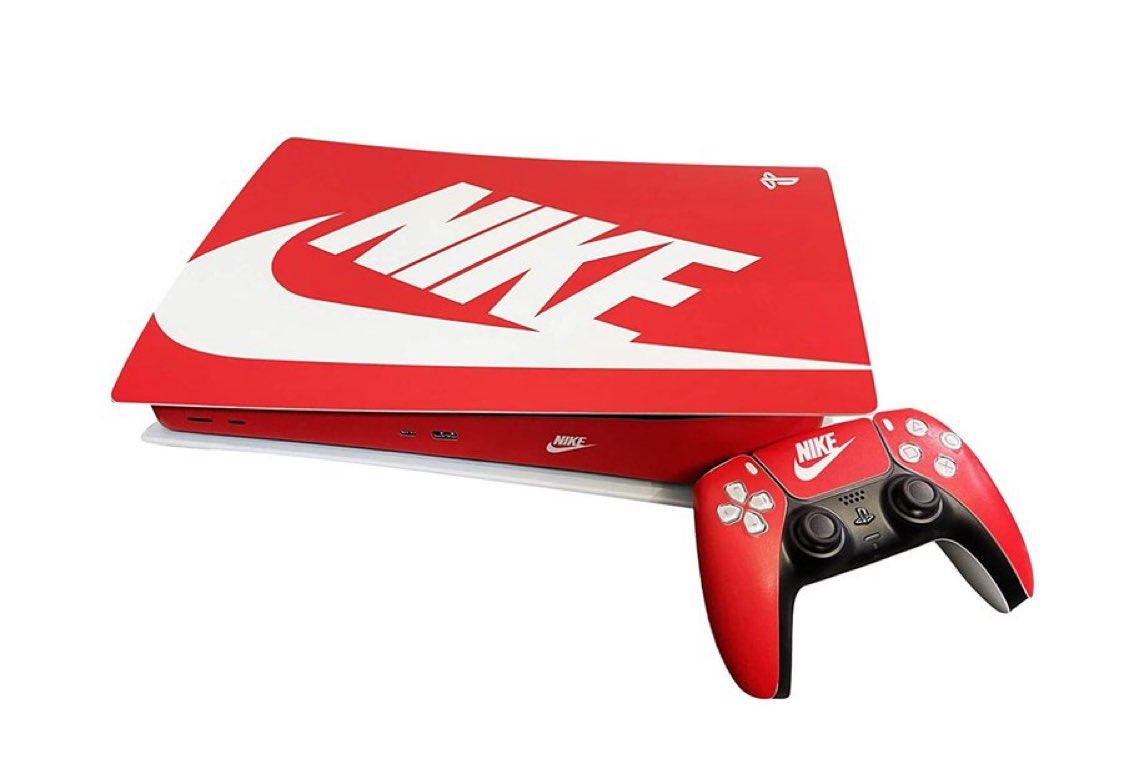 Nike PS5 Red & White Vinyl Set $24.99  Amazon USA 2